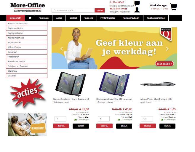 kocht je opbergmiddelen bij Van den Berg in Katwijk?